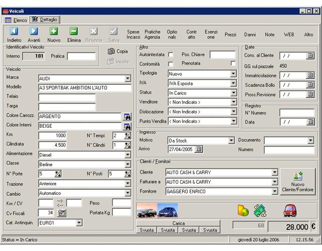 Egauto software per la gestione di autosaloni e concessionari di automobili - Programma per calcolo posa piastrelle ...